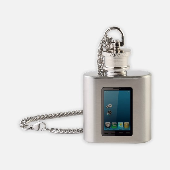 Smartphone Flask Necklace