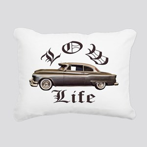 low life gold Rectangular Canvas Pillow