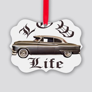 low life gold Picture Ornament