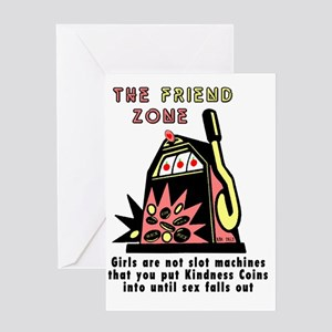 Friend zone Greeting Card