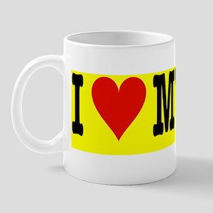 heartcatbumperyelo Mug