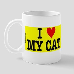 heartmycat8.31x2yellow Mug