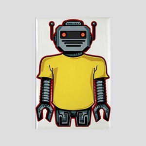 robotintshirt Rectangle Magnet