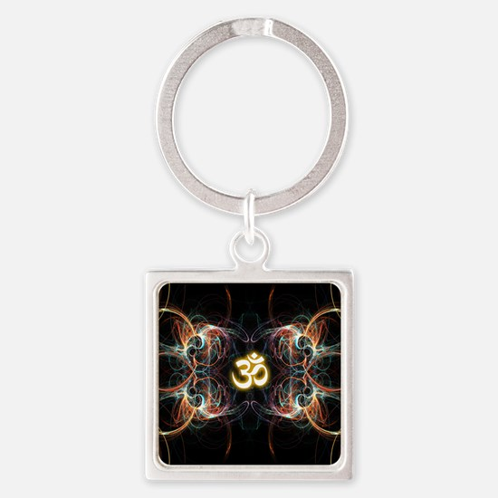 om poster Square Keychain