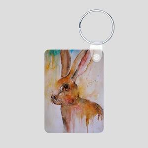 Solo Hare Aluminum Photo Keychain