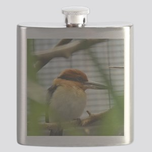 female Guam Micronesian Kingfisher Flask