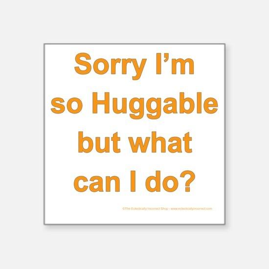 """hubbaable Square Sticker 3"""" x 3"""""""