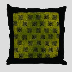 CELTIC-SQUARE-FLIP-FLOPS Throw Pillow