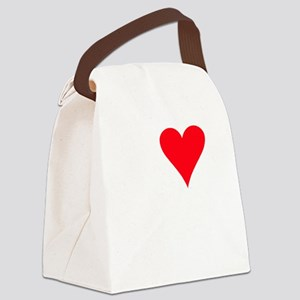 iheartrats_black Canvas Lunch Bag