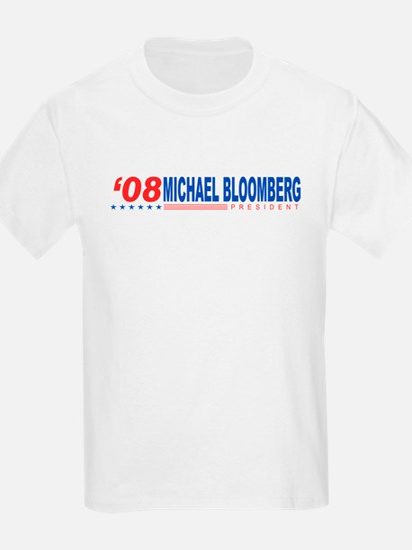 Michael Bloomberg 2008 Kids T-Shirt
