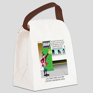 8583_auto_cartoon Canvas Lunch Bag