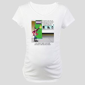 8583_auto_cartoon Maternity T-Shirt