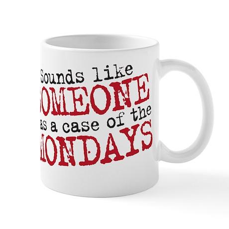 Officespace. Monday Copy Mug
