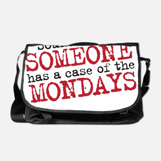 monday copy Messenger Bag