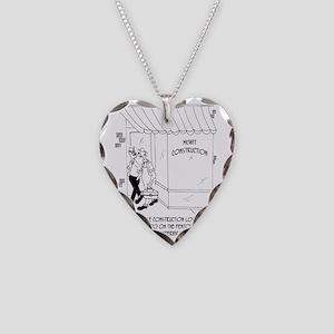 6357_contractor_cartoon Necklace Heart Charm