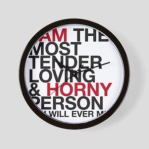 HORNYPERS copy Wall Clock