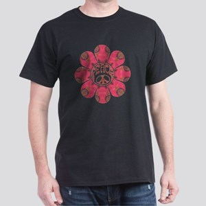 Peace Flower - Affection Dark T-Shirt