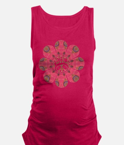 Peace Flower - Affection Maternity Tank Top