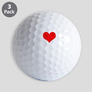 ILOVEHONEYw Golf Balls