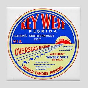 $9.99 Key West, Florida Tile Coaster