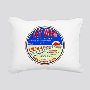 $19.99 Key West, Florida Rect Canvas Pillow