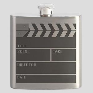 Blank ClapperBoard Flask