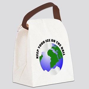 unique save the earth Canvas Lunch Bag