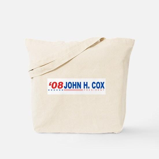 John H Cox 2008 Tote Bag