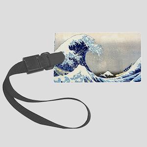Bag Hokusai Wave Large Luggage Tag