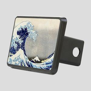 Bag Hokusai Wave Rectangular Hitch Cover