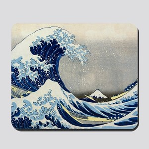 Laptop Hokusai Wave Mousepad