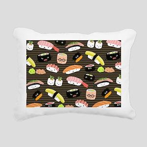 sushibigbag Rectangular Canvas Pillow