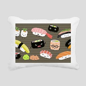 sushicoinpurse Rectangular Canvas Pillow