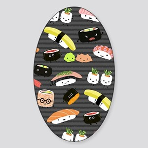 sushinook Sticker (Oval)