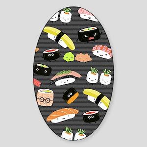 sushinook Sticker (Oval)