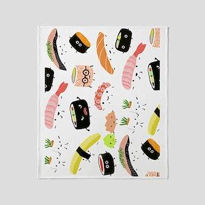 sushiipad2 Throw Blanket