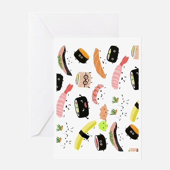 sushiipad2 Greeting Card