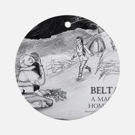 Beltane A Magickal Homecoming - Lin Round Ornament