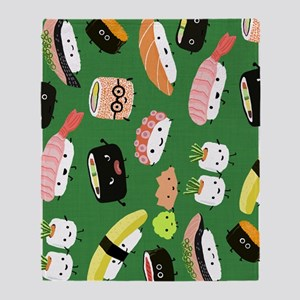 sushiipad3 Throw Blanket