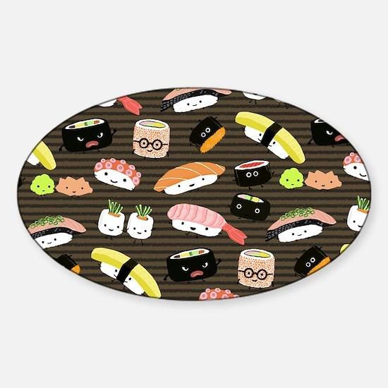 sushiskin Sticker (Oval)