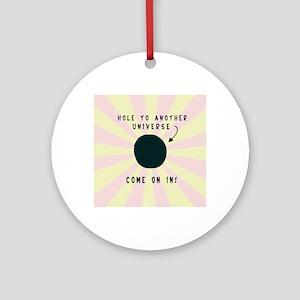 UniverseHole7100 Round Ornament