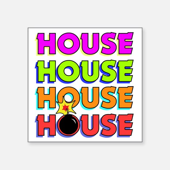 "BombayHouse Square Sticker 3"" x 3"""