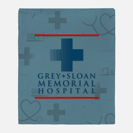 Grey Sloan Hospital Throw Blanket