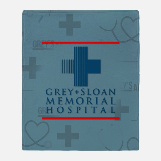 Grey Sloan Hospital Throw Blanket