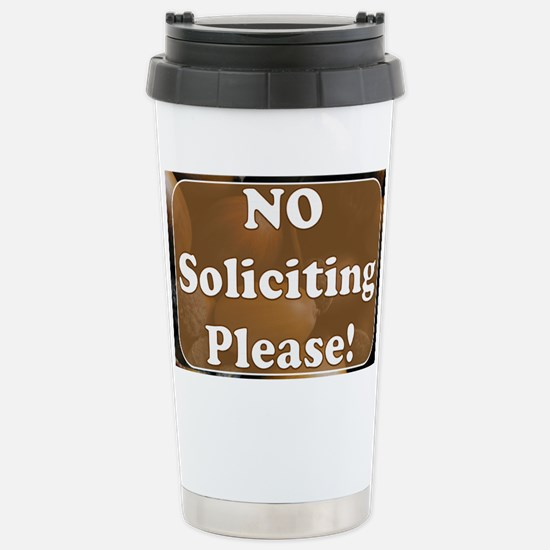 no solicit2 Stainless Steel Travel Mug
