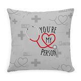 Greysanatomytv Burlap Pillows