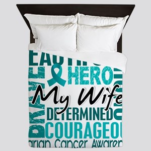 D Wife Queen Duvet