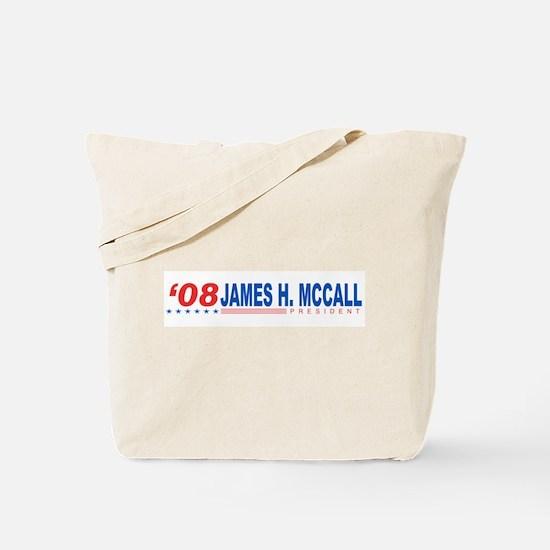 James H Mccall 2008 Tote Bag