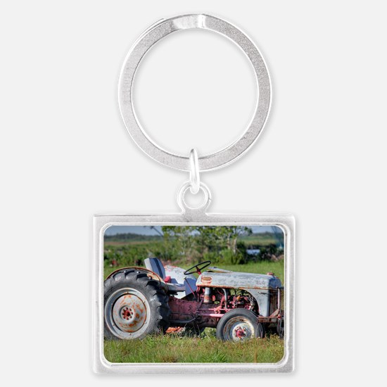 Red Belly Ford Landscape Keychain