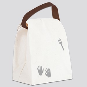 Who Needs A Fork When You Have Ha Canvas Lunch Bag